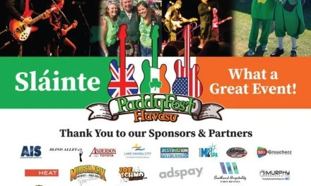 2nd Annual PaddyFest Event coming back to Lake Havasu City