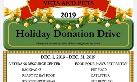 Vets and Pets Donation Drive