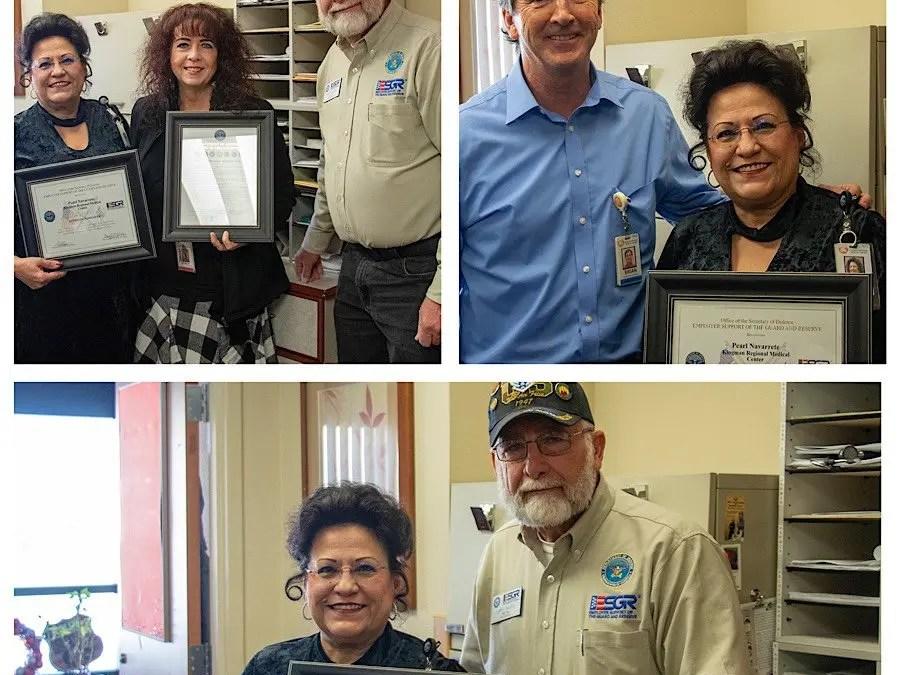 "KRMC employee receives Department of Defense ""Patriot Award"""