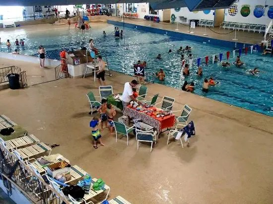 Summer Swim Lessons at the Aquatic Center