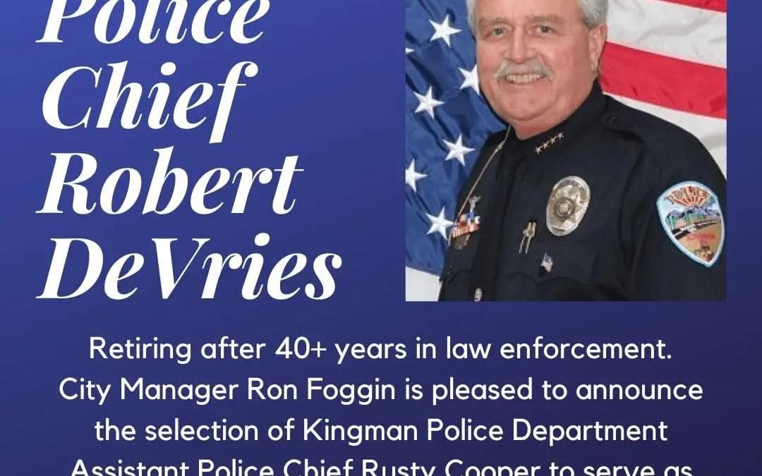 New Kingman Police Chief Named