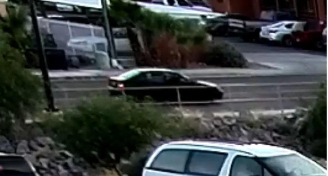Stolen Vehicle Fire