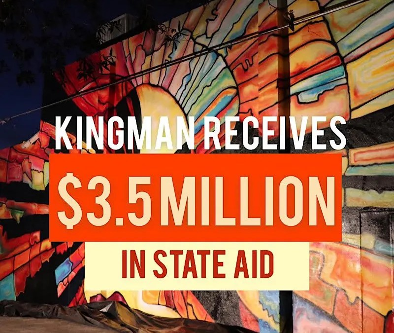 Governor Ducey Announces Nearly $600 Million inLocal Coronavirus Relief Funds-Kingman to Receive Close to $3.5 Million-