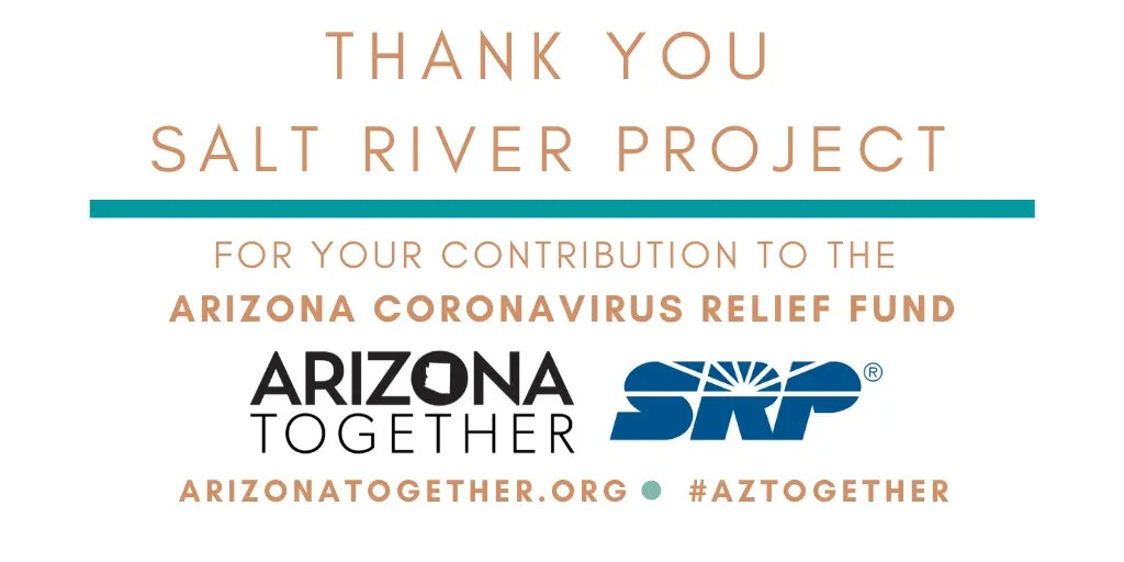 SRP Donates $100,000 To Support Arizonans In Need, Frontline Medical Professionals