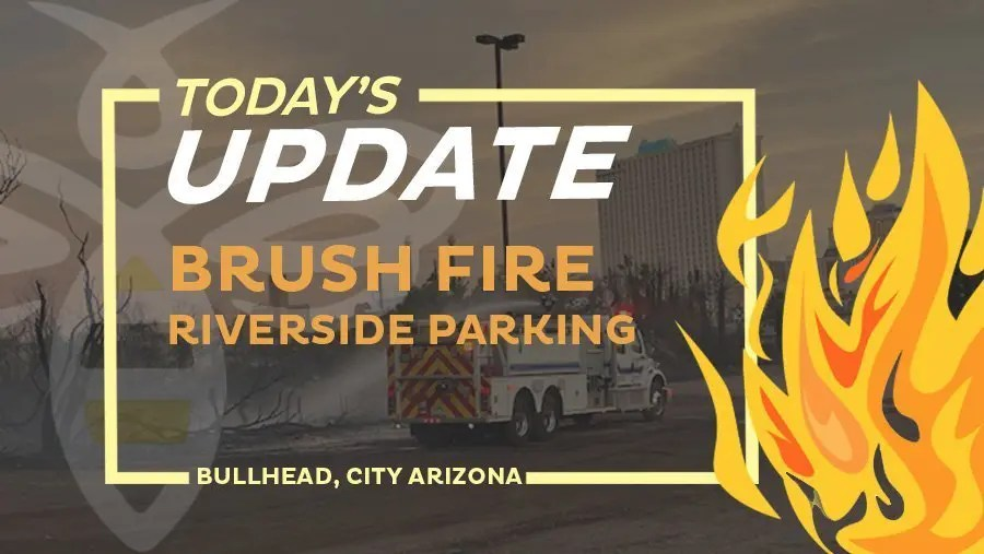 Riverside Parking Lot Brush Fire