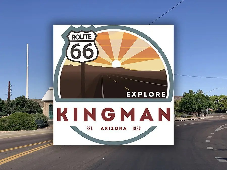 Kingman gets new City Logo