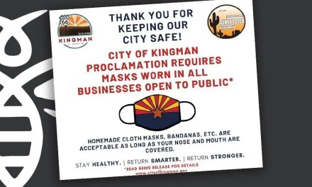 City of Kingman Continues Mask Requirements