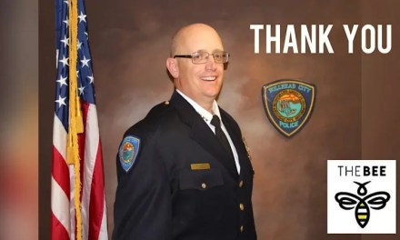 Police Chief Retirement Drive-Thru Celebration
