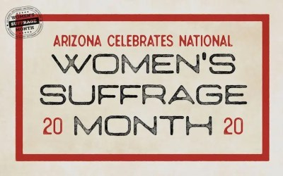 Arizona Celebrates Women's Suffrage Month
