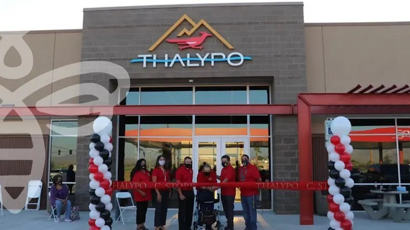 New Thalypo C-Store Ribbon Cutting