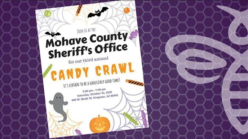 Mohave County Sheriff's Office 3rdAnnual Candy Crawl