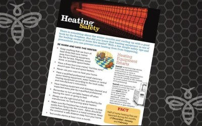 Fire Safety & Cooler Temperatures