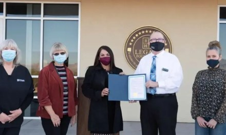 Bullhead City mayor, council present proclamation to Radiologic Technology program