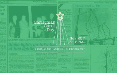 Christmas Carol Day – Lighting of Radar Hill Tree