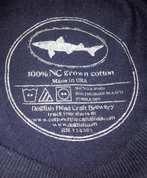 605897370f My t-shirt from Dogfish Head Brewery