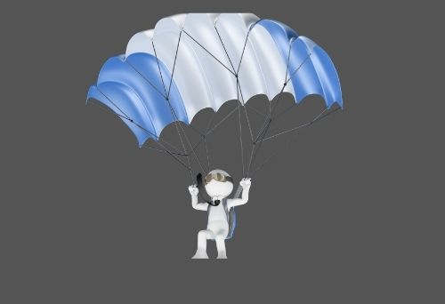 You are currently viewing Physics of Parachute & Skydiving: Forces acting on a parachute