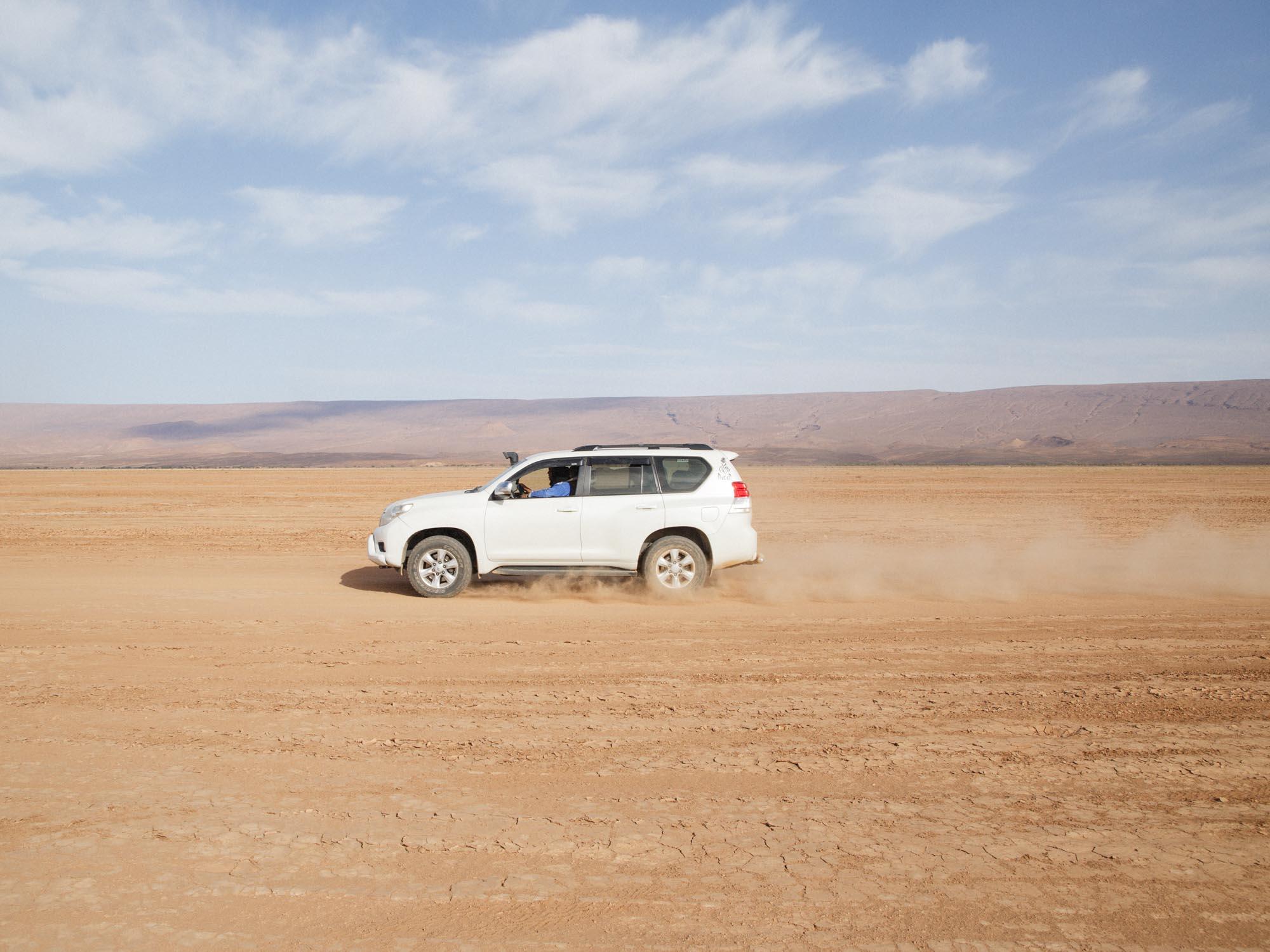 Luxury 4x4 Transport at Desert Camp Morocco
