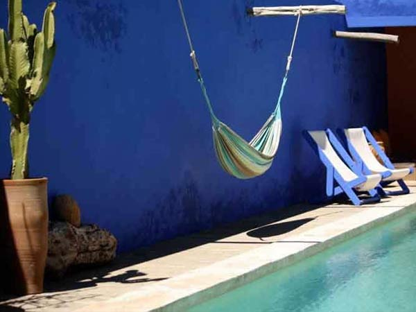 la piscine Marrakech