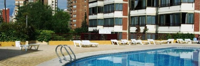Europa Center Apartments Benidorm Spain