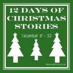 Day Nine: 12 Days of Christmas Stories {Christmas Angel & Candy Cane Caramel Apples}