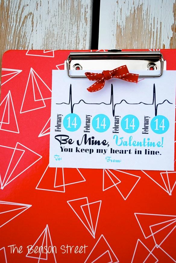 Clipboard Valentine at The Benson Street5