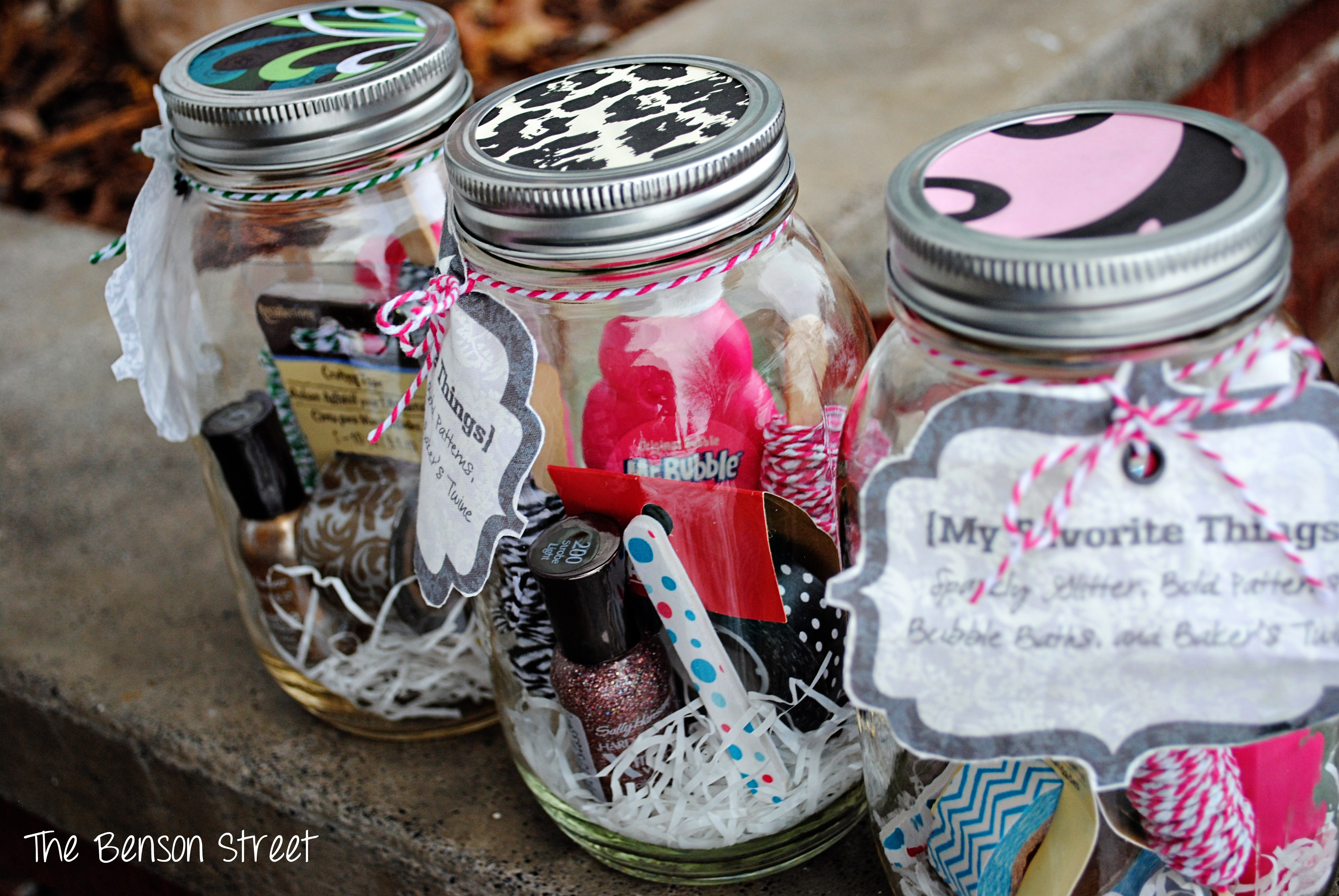 {My Favorite Things Jars} The Benson Street