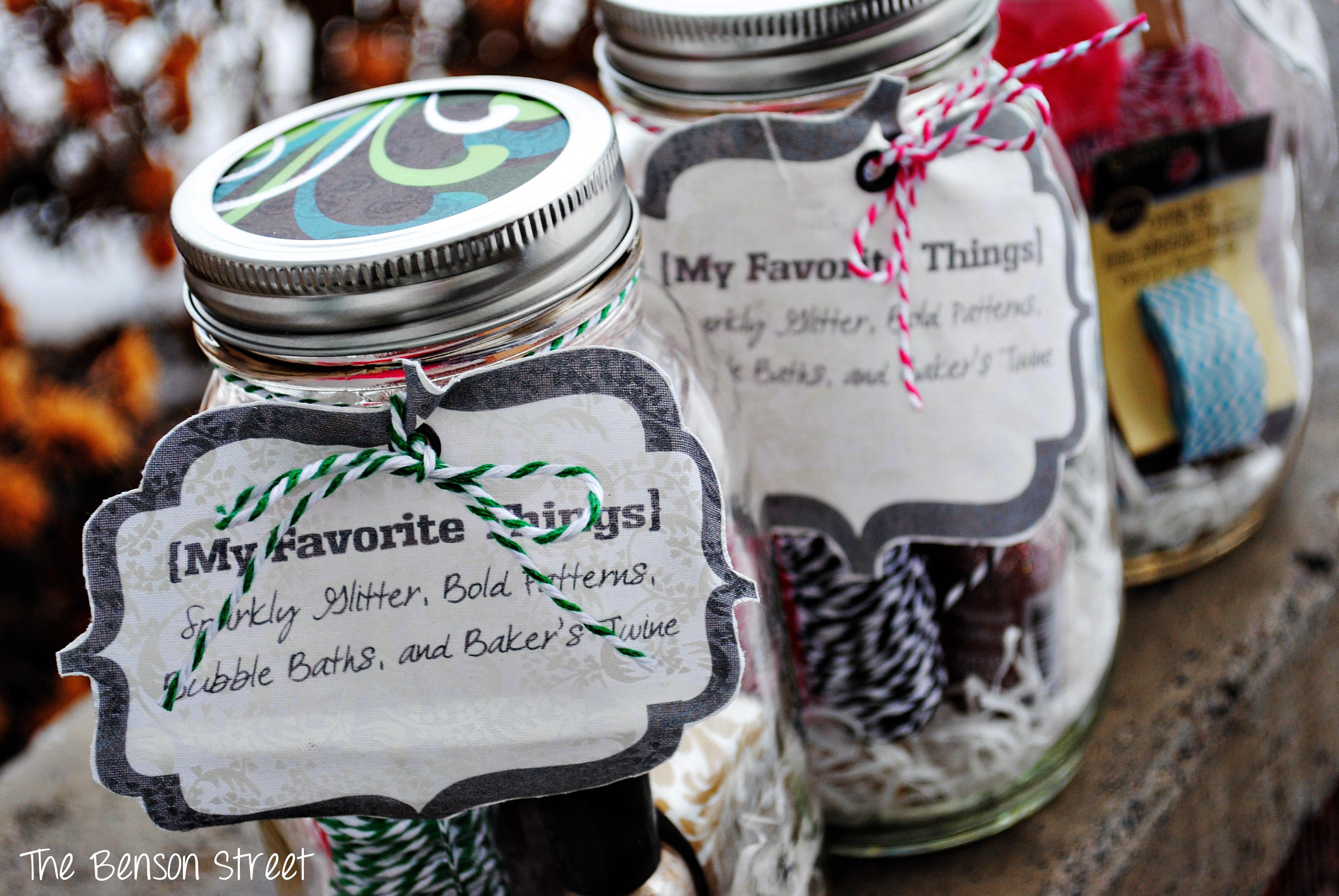 {My Favorite Things Jars} The Benson Street