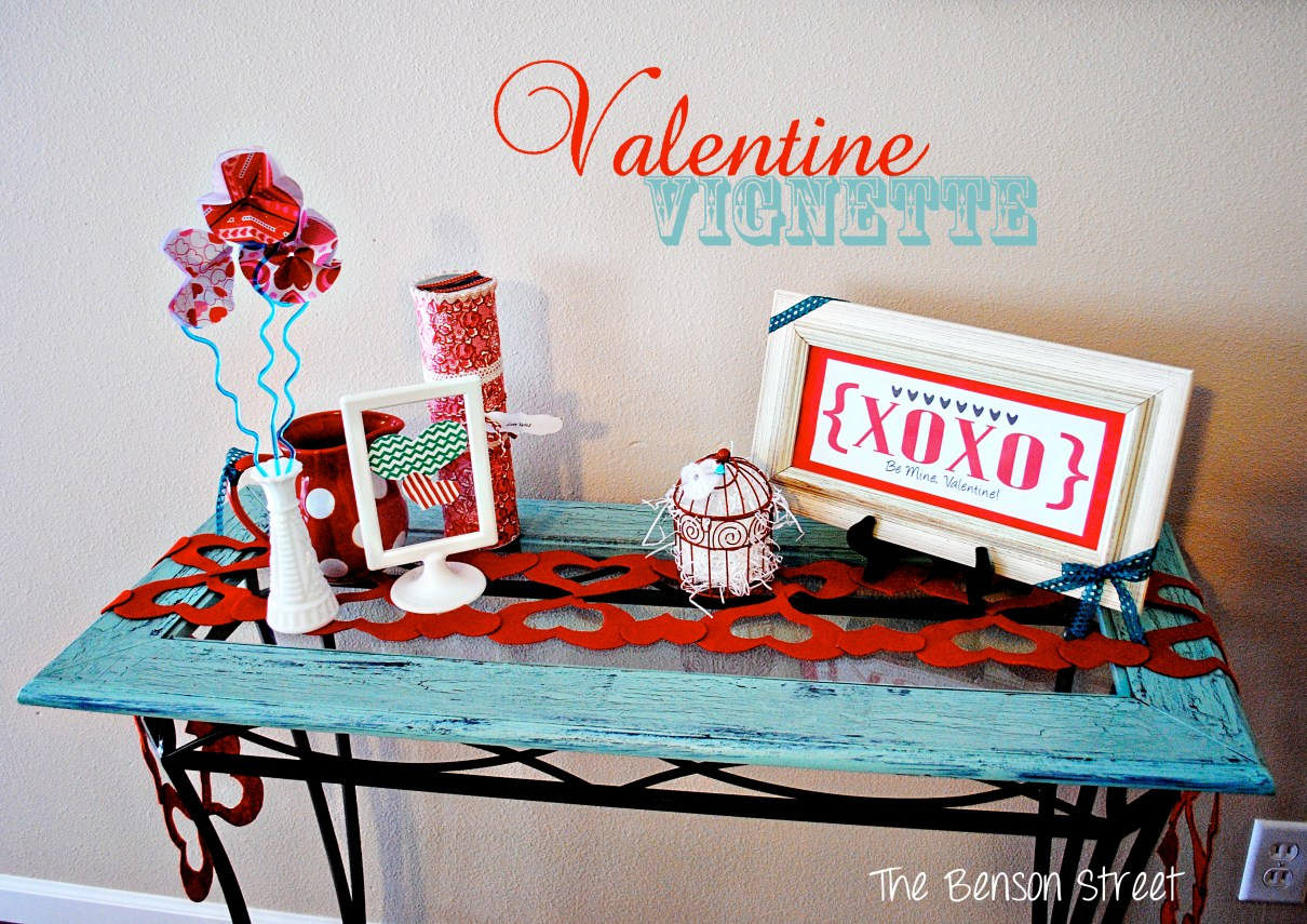 Valentine Vignette at The Benson Street
