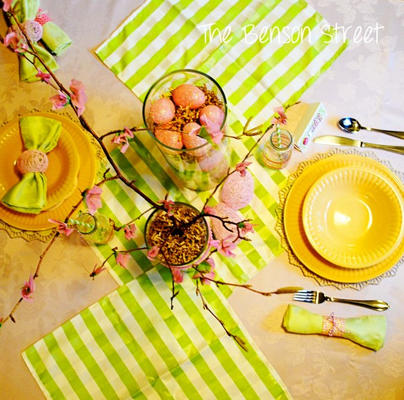 Easter Tablescape at www.thebensonstreet.com 5