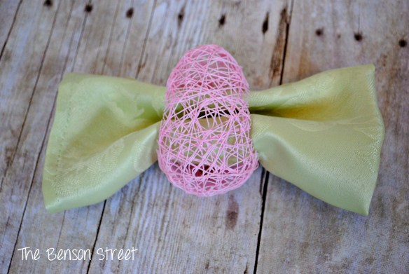Spring Napkin Ring Tutorials at www.thebensonstreet.com