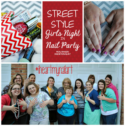 Street Style Nail Party Collage at www.thebensonstreet.com