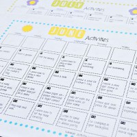 Summer Fun Activity Calendar {31 Days of Summer Fun}