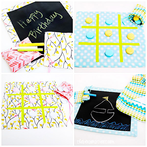 Birthday Party Favor Bag at thebensonstreet.com