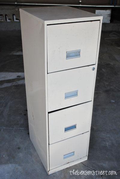 Redo a file cabinet at thebensonstreet.com