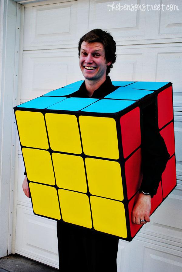 Rubik's Cube Halloween Costume at thebensonstreet.com