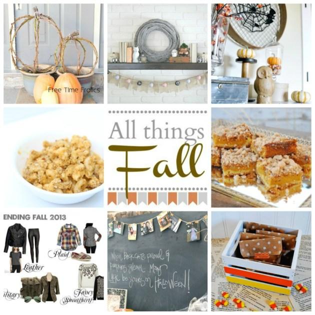 Blog Hop All things Fall