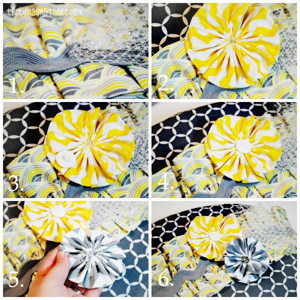 Ruffle Detail Fun with Office Chair Remake at thebensonstreet.com