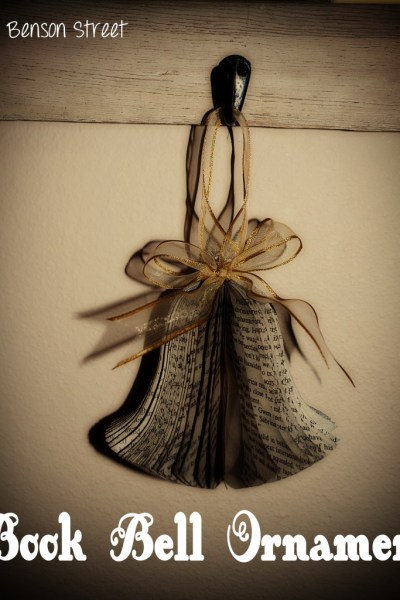 Book Bell Ornament