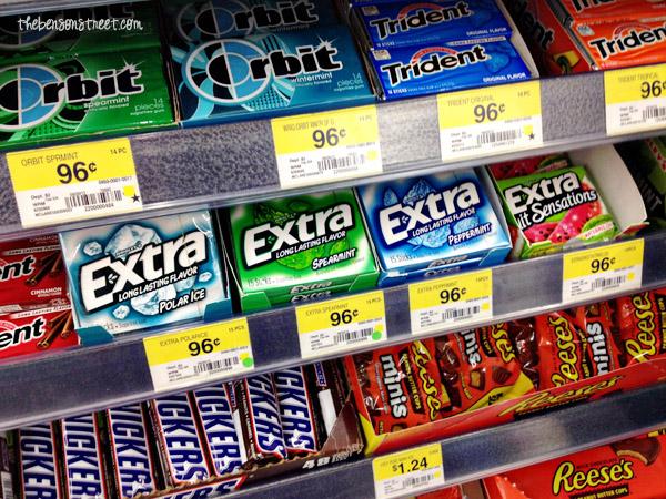 Extra Gum at Walmart #shop #GiveExtraGum