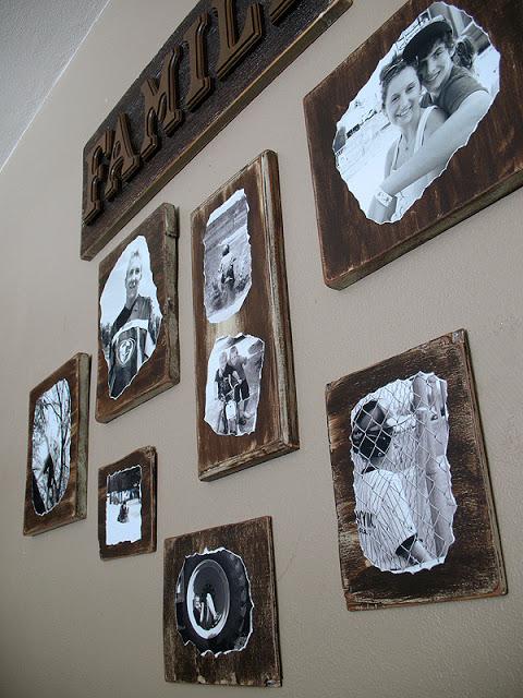 Family Photo Plaques