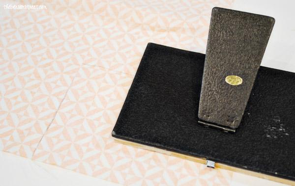 Quick Fabric Framed Turkey at thebensonstreet.com