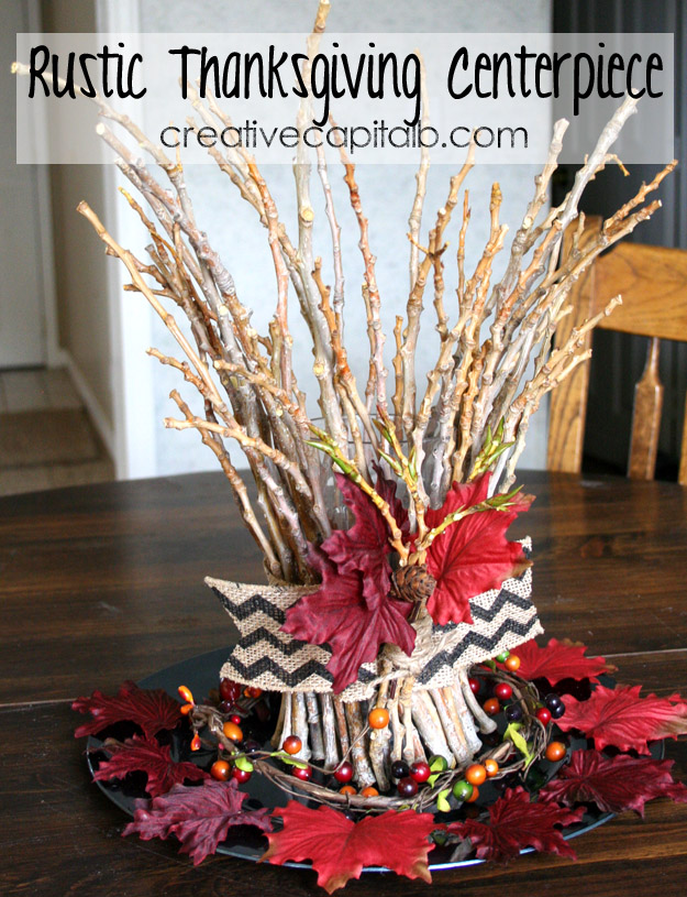 Rustic Thanksgiving Centerpiece 2 from Capital B