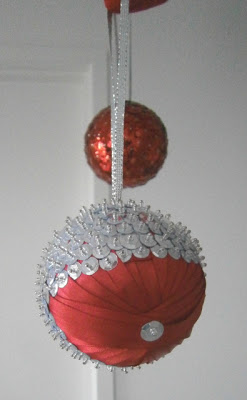 Sequine Ornament