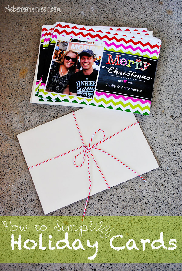 Simplfy your Holiday Greeting Cards at thebensonstreet.com #walgreensapp #shop #cbias
