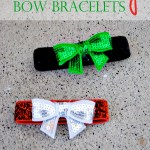 Holiday Bow Bracelets
