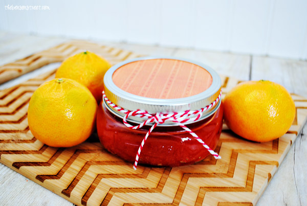 Orange Mulberry Sugar Scrub at thebensonstreet.com