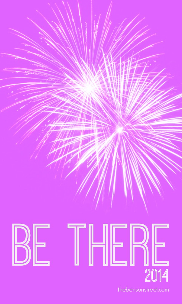 Be There 2014 at thebensonstreet.com
