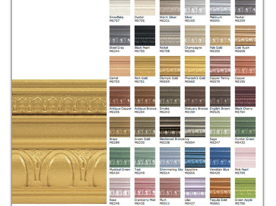 Modern Masters Paint colors at thebensonstreet.com