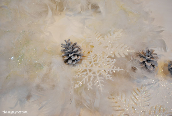 Snow Wreath at thebensonstreet.com