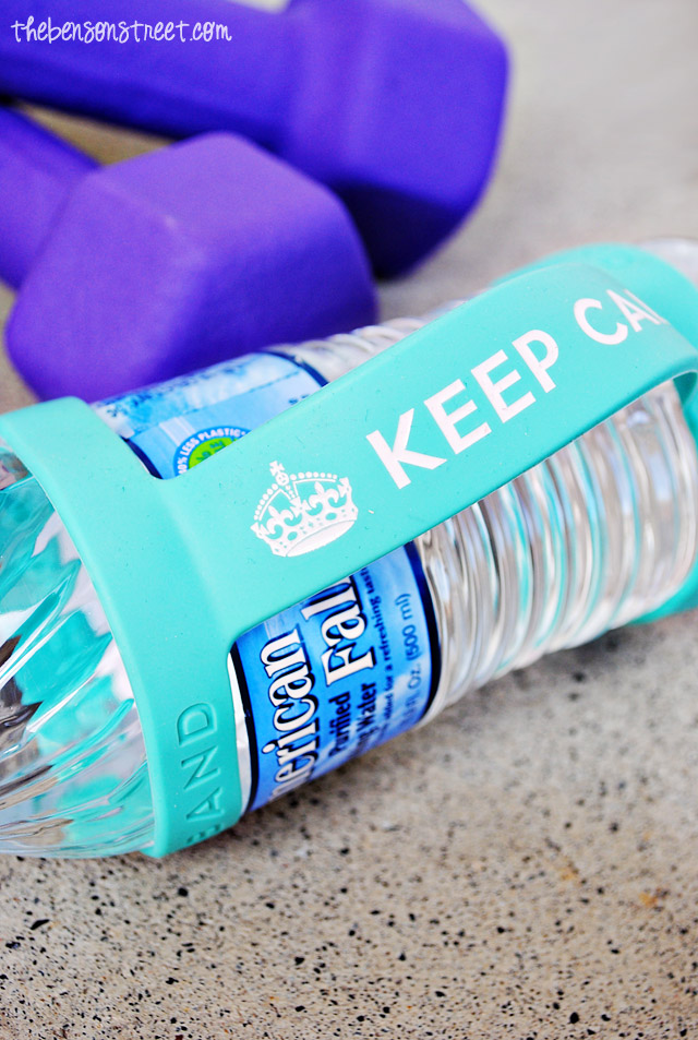 Adorable Keep Calm Bottle Band at thebensonstreet.com